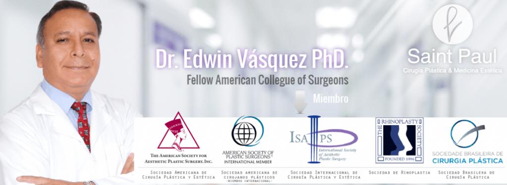 Cirujano Plástico con Excelencia y prestigio en Clínica Saint Paul