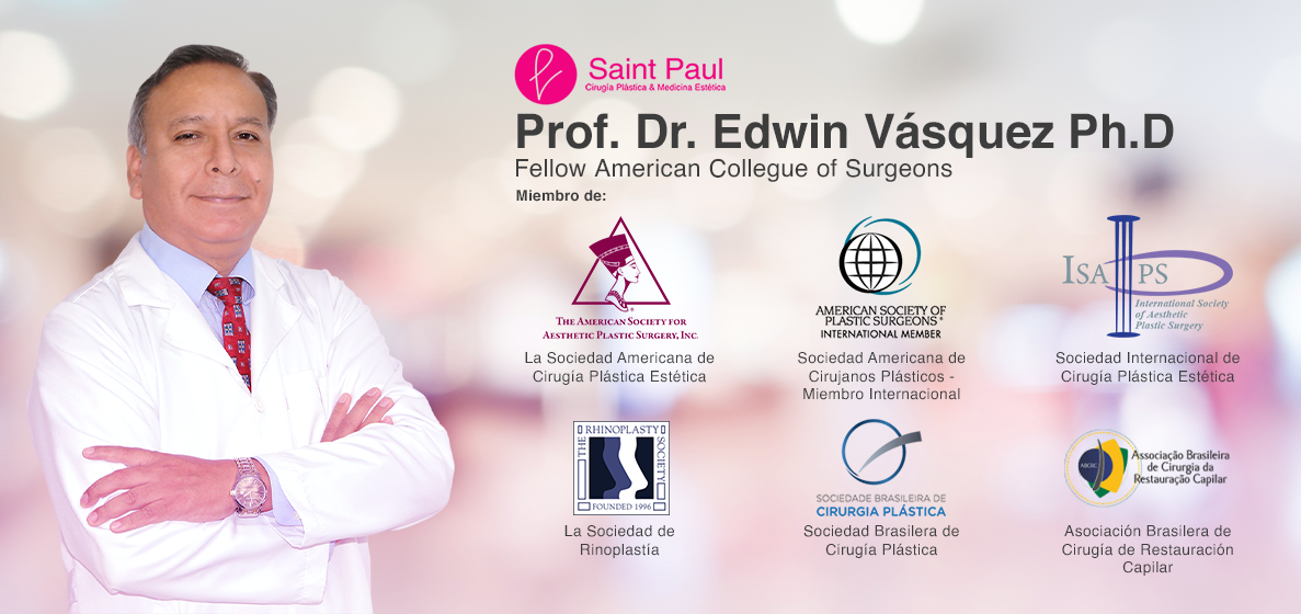 Cirujano Plástico Certificado Dr. Edwin Vásquez