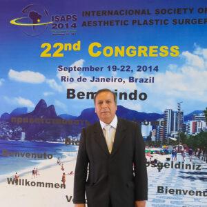 Dr. Edwin Vásquez en Congreso Internacional de ISAPS 2014