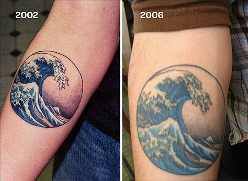 Edad del tatuaje